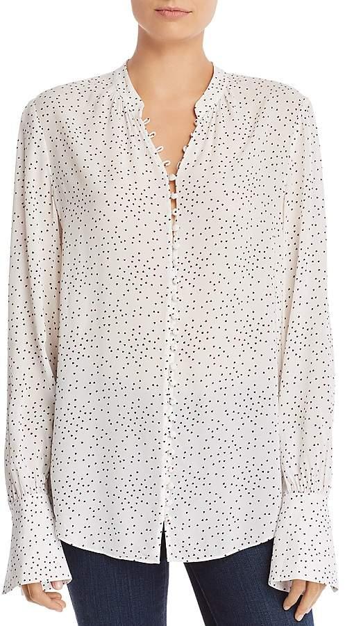 Joie Tariana Heart-Print Shirt
