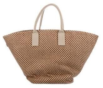 Hermes Basket Weave Tote