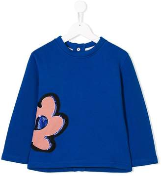 Marni floral patch sweatshirt
