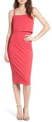 Soprano Popover Midi Body-Con Dress