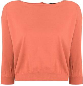 Roberto Collina boat neck knitted jumper
