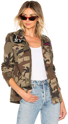 HISTORY REPEATS I Love NY Patch Jacket