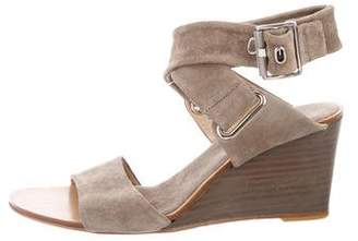 Rag & Bone Suede Wedge Sandals