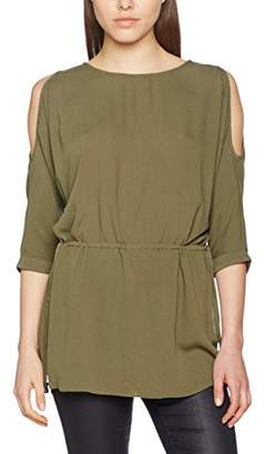 Only Solid 3/4 Sleeved Top Women Green Sale Very Cheap Discount Best Store To Get Outlet Shop Offer Cheapest 8xNgXF
