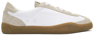 Acne Studios White Leather Lars Sneakers