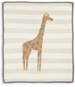 Lucky Jade Baby's Cashmere-Blend Giraffe Blanket