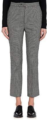 R 13 Women's Skinny Kick Flare Mini-Houndstooth Pants