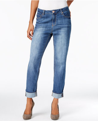 Style & Co Slim-Leg Boyfriend Jeans, Created for Macy's $19.98 thestylecure.com