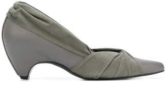 Stella McCartney twisted knot low heel pumps