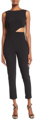 Misha Eleanor Cutout Pantsuit w/ Pockets