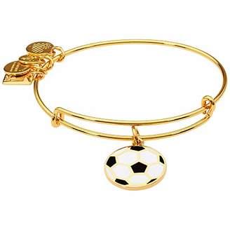 Alex and Ani Women's Team USA Soccer Bangle Gold-Tone