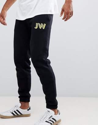 Jack Wills Gosworth slim fit joggers in black