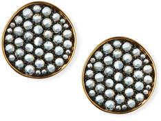 Etho Maria 18k Gold & Blue Topaz Earrings