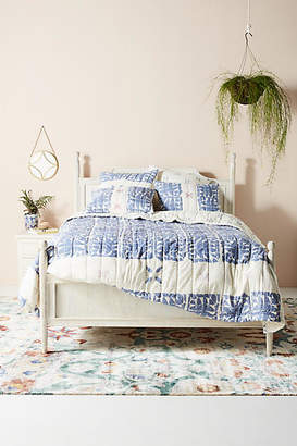 Anthropologie Artisan Quilts by Block-Printed Gila Quilt