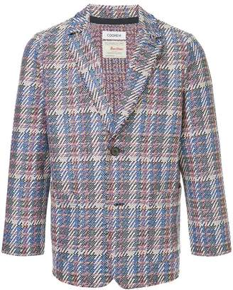 Coohem (コーヘン) - COOHEM Tech tweed jacket