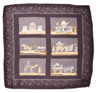 Burberry Square Printed Scarf