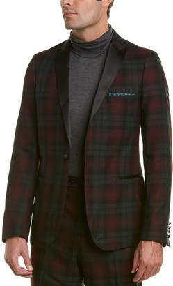 Paisley & Gray Grosvenor Peak Lapel Slim Fit Tuxedo Jacket