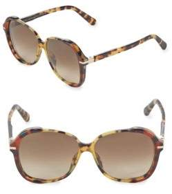 Marc Jacobs Gradient 58MM Square Sunglasses
