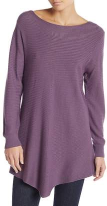 Lola Made In Italy Ribbed Boatneck Tunic