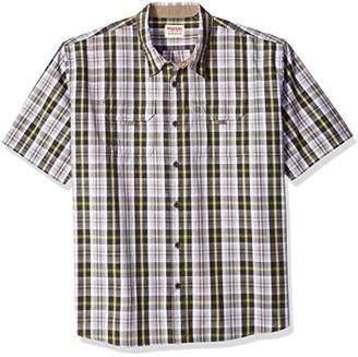 Wrangler Authentics Men's Big-Tall Short Sleeve Canvas Shirt