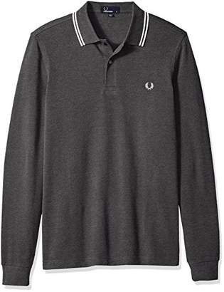 3d968dbf8f at Amazon.com · Fred Perry Men's Long Sleeve Twin Tipped Shirt