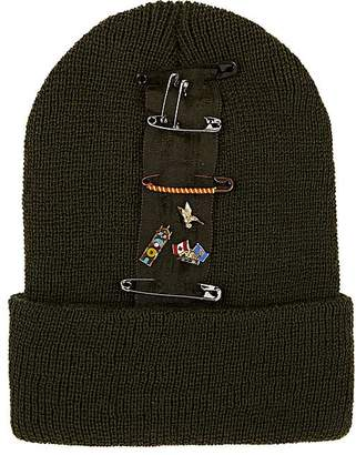 Albertus Swanepoel Women's Nancy Pin-Embellished Wool Beanie