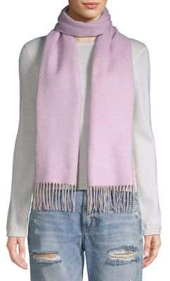 Lord & Taylor Fringed Wrap Scarf