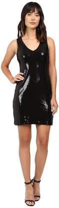 Karen Kane V-Neck Sequin Sheath Dress Women's Dress