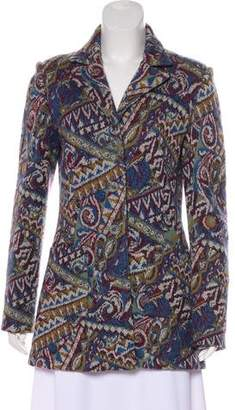 Missoni Wool-Blend Patterned Blazer
