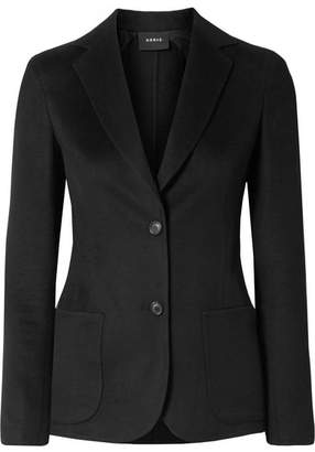 Akris Saigon Wool And Cashmere-blend Jacket - Black