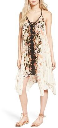 Women's Band Of Gypsies Poinsettia Print Dress $78 thestylecure.com
