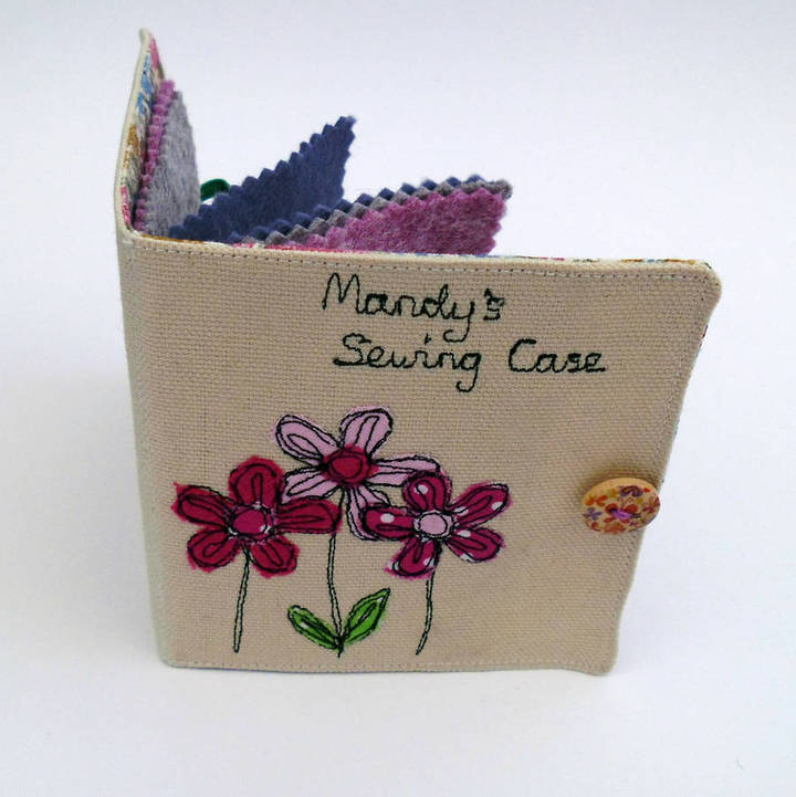 Oscar & Toots Personalised Sewing Case