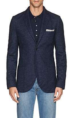 Loro Piana Men's Houndstooth Cashmere-Blend Sportcoat