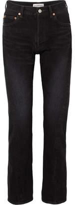 Balenciaga Twisted Boyfriend Jeans - Black
