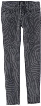 Hudson Jeans Kids Jeans Girls' Zebra Heather Charcoal Skinny Leg