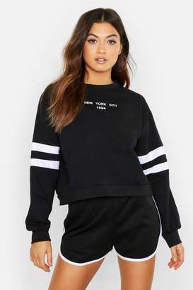 boohoo New York City 1994 Slogan Sweat