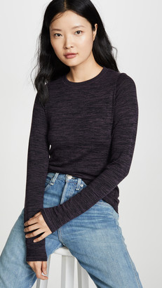 Rag & Bone Jane Slim Long Sleeve Tee