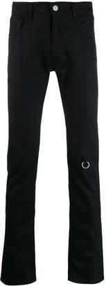 slim-fit 4 rings jeans