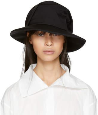 Y's Ys Black Fold Hat