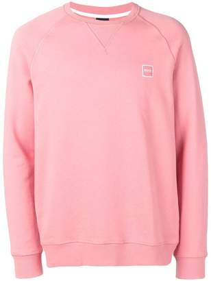 HUGO BOSS French-terry sweatshirt