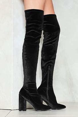 Nasty Gal You Should Be High Love Over-the-Knee Boot