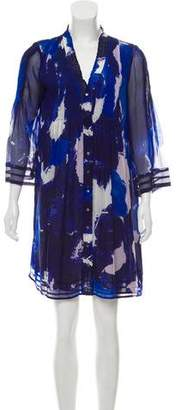 Diane von Furstenberg Silk Shift Dress
