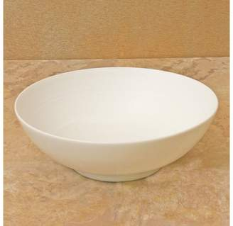 "J.L. Coquet Hemisphere"" White Soup Bowl, Small"