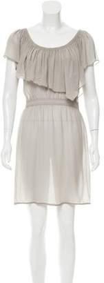 Vena Cava Chiffon Mini Dress