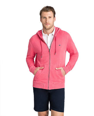 Vineyard Vines Garment-Dyed Full Zip Hoodie