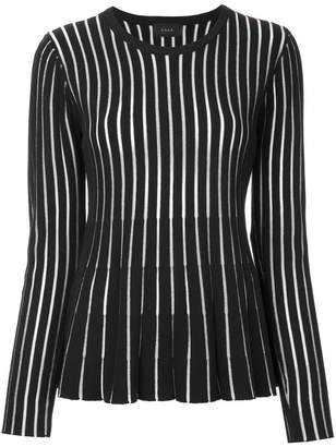 G.V.G.V. sheer striped sweater