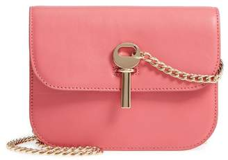 Topshop Amelia Mini Premium Leather Shoulder Bag