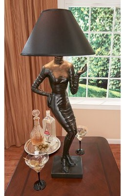 "Toscano Design Mademoiselle Haute 33.5"" Table Lamp Design"