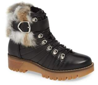 Rudsak Baie Genuine Rabbit Fur Trim Winter Boot