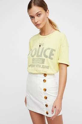 We The Free Little Daisies Mini Skirt